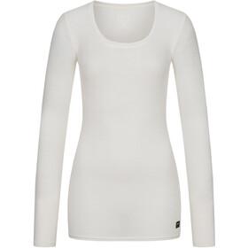 super.natural Rib LS Shirt Women fresh white